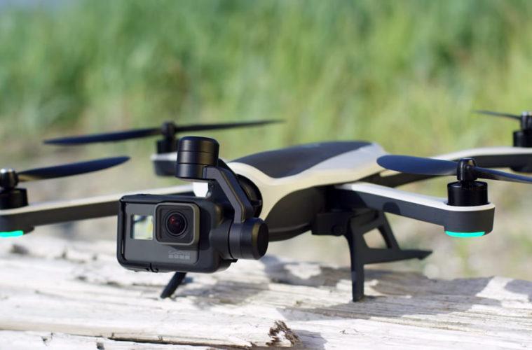 Le drone Karma, développé par GoPro