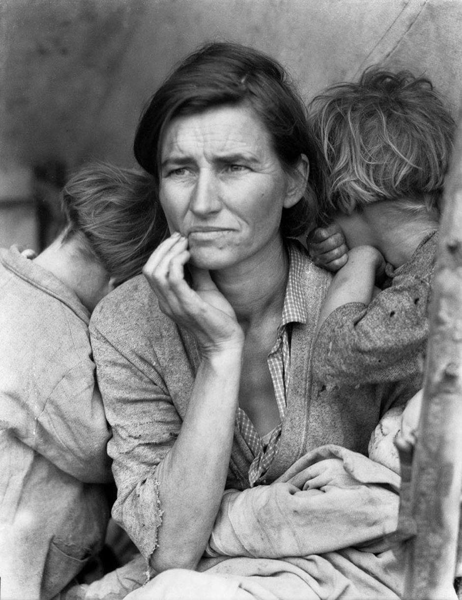 Dorothea Lange Migrant-mother-940x1221