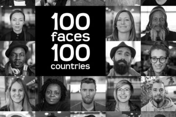 100 Faces 100 Countries