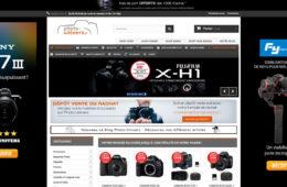 Page d'accueil du site Photo-univers.fr