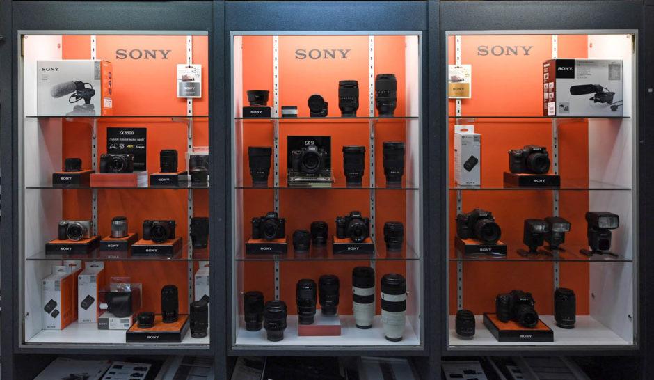 Boutique Photoflash à Poitiers - espace Sony