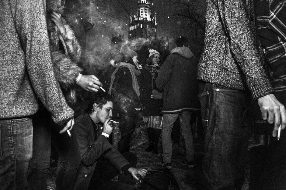 Last Night I'm Done © Arnold Veber