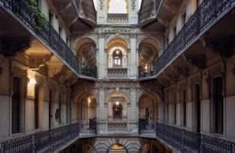 Budapest Courtyards