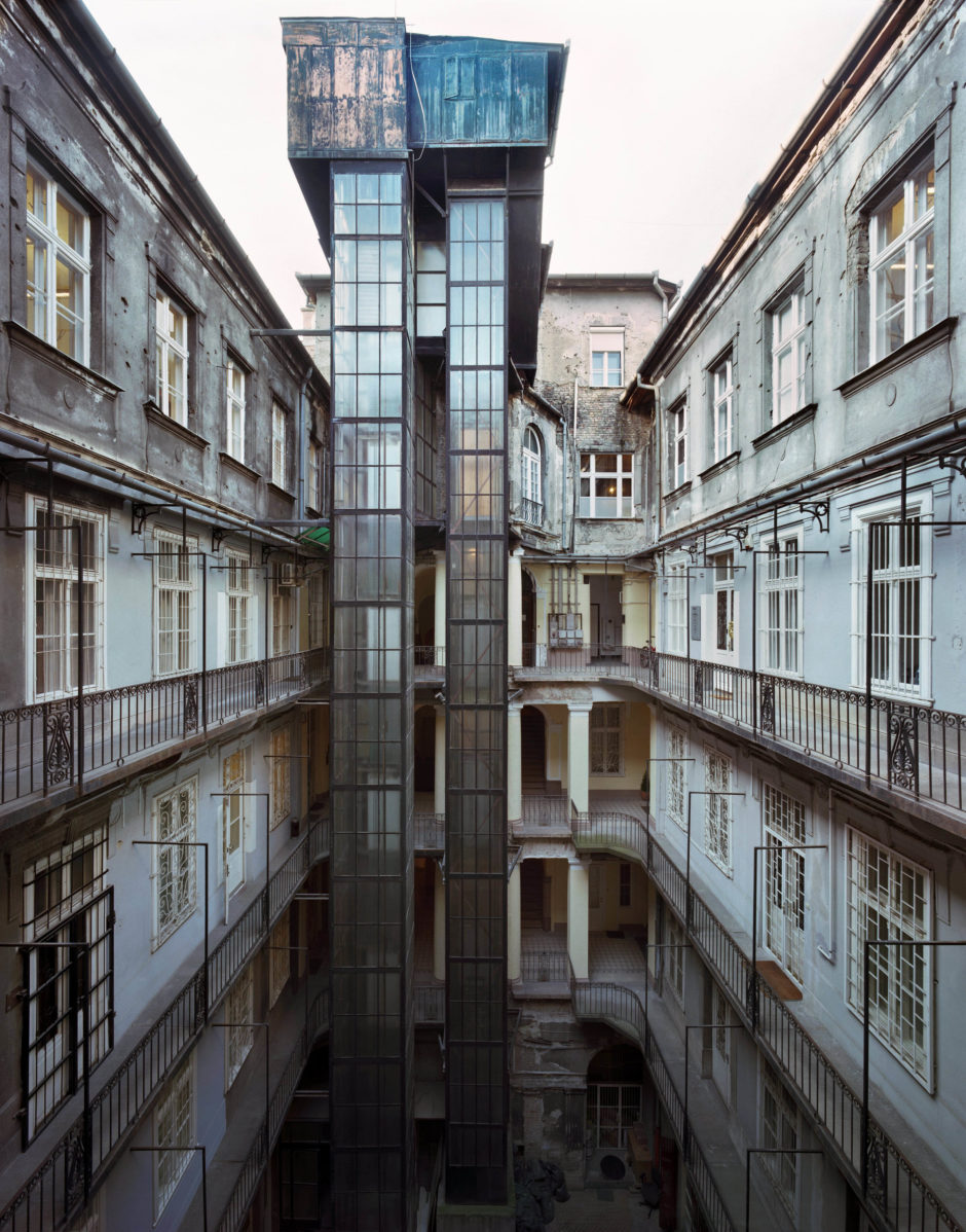 Budapest Courtyards