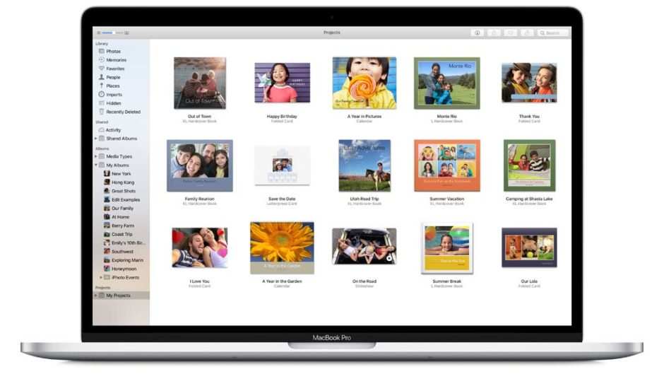 Apple Photo Projects