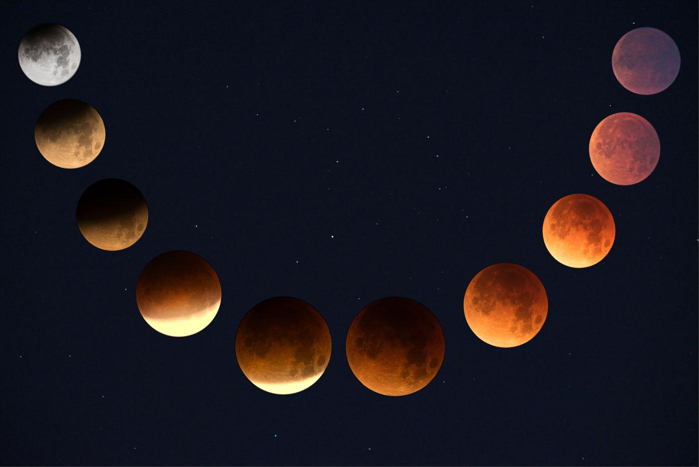Technique photo : comment photographier une éclipse de lune ?