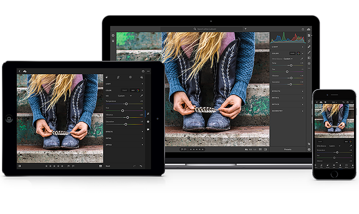 Lightoom Photoshop pour iPad