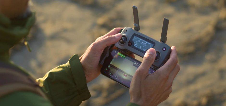 La télécommande des Mavic 2 Pro et Mavic 2 Zoom