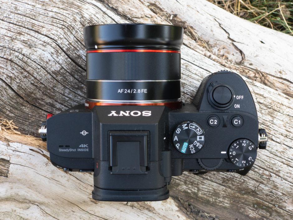 Samyang AF 24mm F:2.8 FE sur Sony A7III
