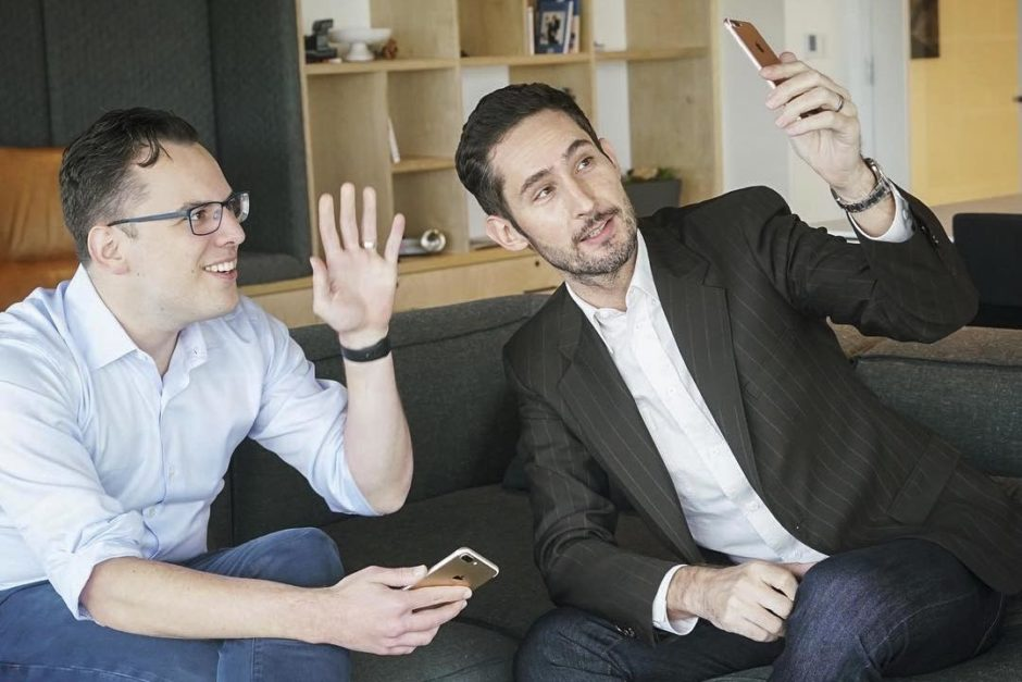 Mike Krieger Kevin Systrom Instagram