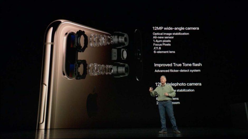 Présentation Appareil Photo IPhone Xs