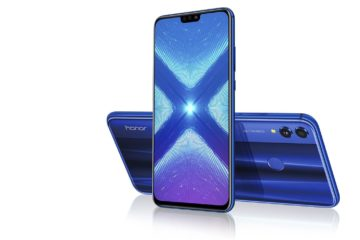 Honor 8X Bleu