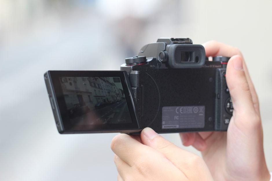 Canon G1 X Mark III arrière
