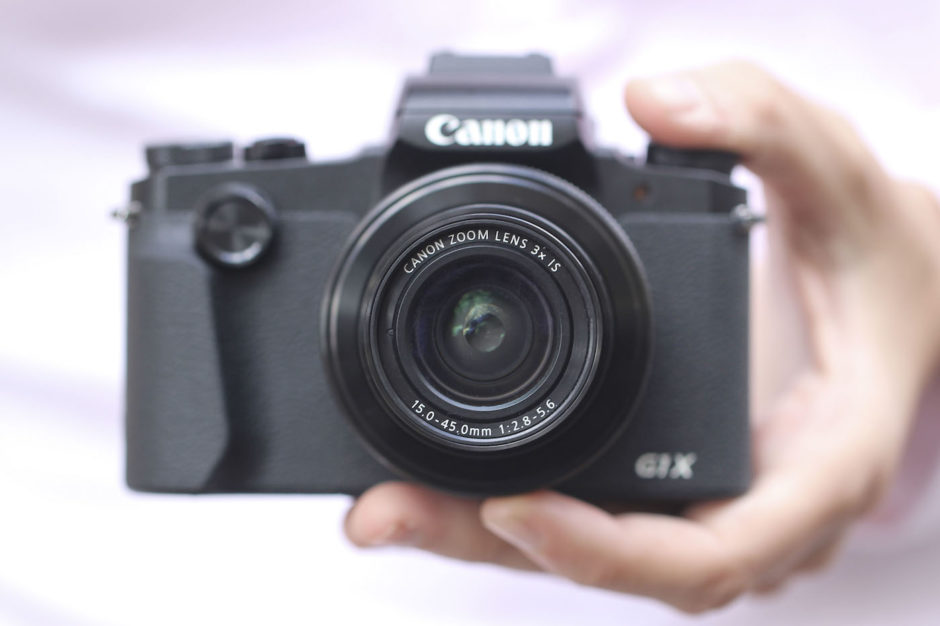 Canon G1 X Mark III compacité
