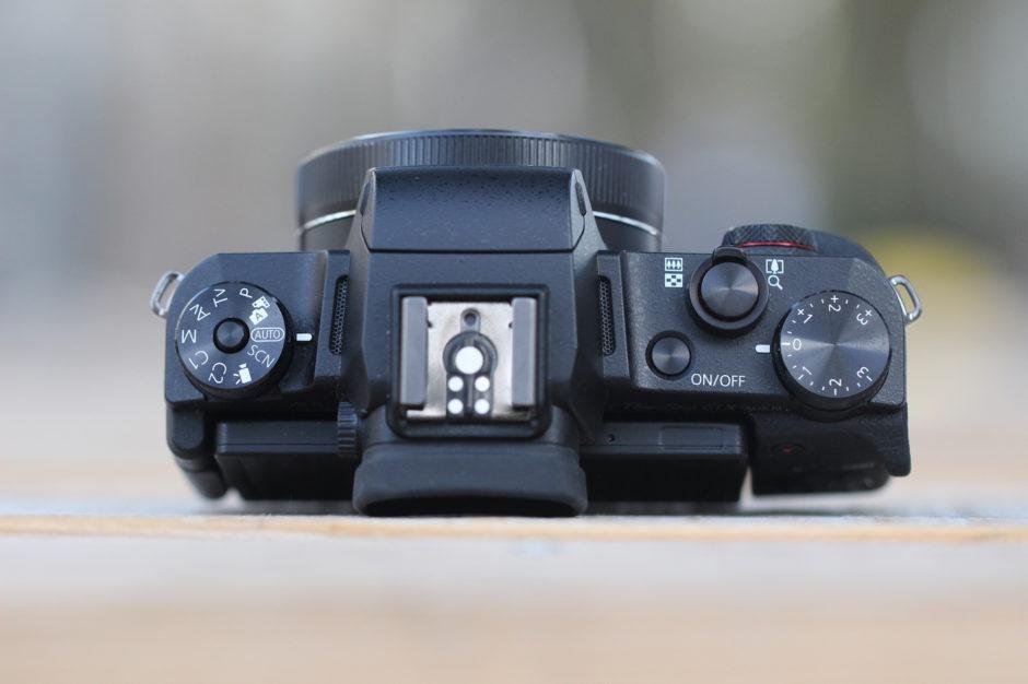Canon G1 X Mark III haut