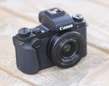 Canon G1 X Mark III Poignée
