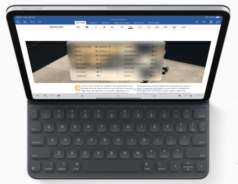 IPad Pro Office Clavier