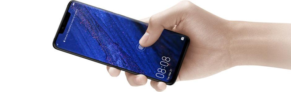 Huawei Mate 20 capteur d'empreinte digitale intégré à l'écran