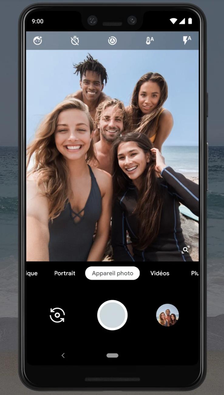 Selfie Pixel 3