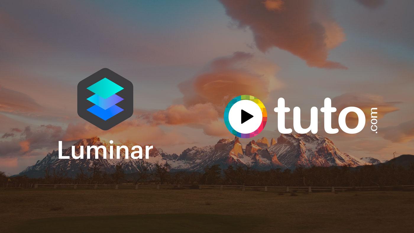 Concours Luminar : 6 mois d'abonnement à Tuto.com et une licence de Luminar à gagner