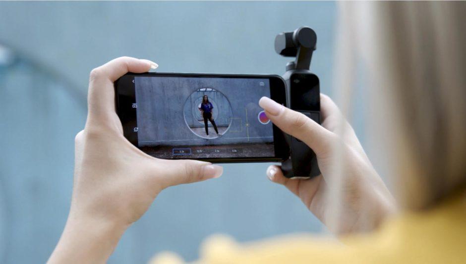 DJI Osmo Pocket smartphone connecté