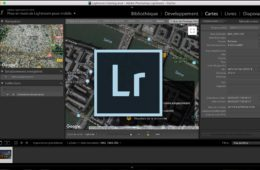 Lightroom Module Cartes Header