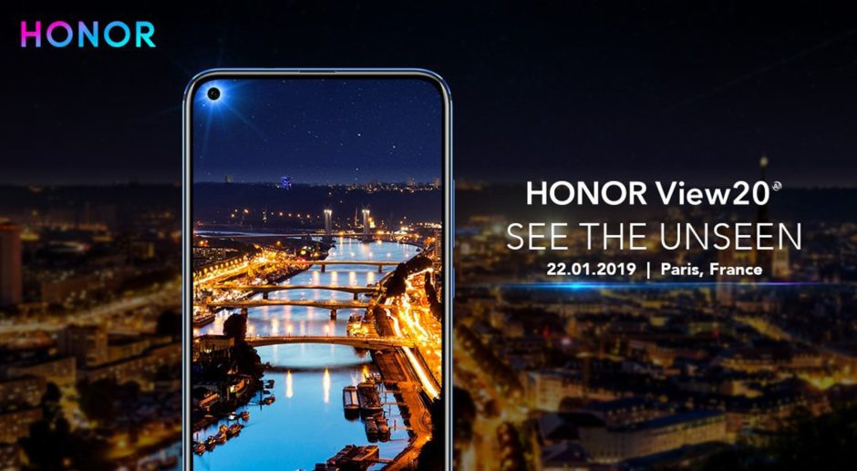 Honor View 20 Paris See The Unseen