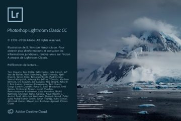 Lightroom CC Classic Décembre 2018