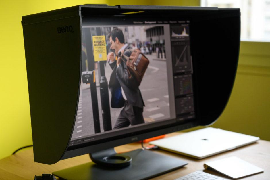 recherche de liquidation livraison rapide nouveau authentique Test de l'écran photo BenQ SW271 4K 27 pouces