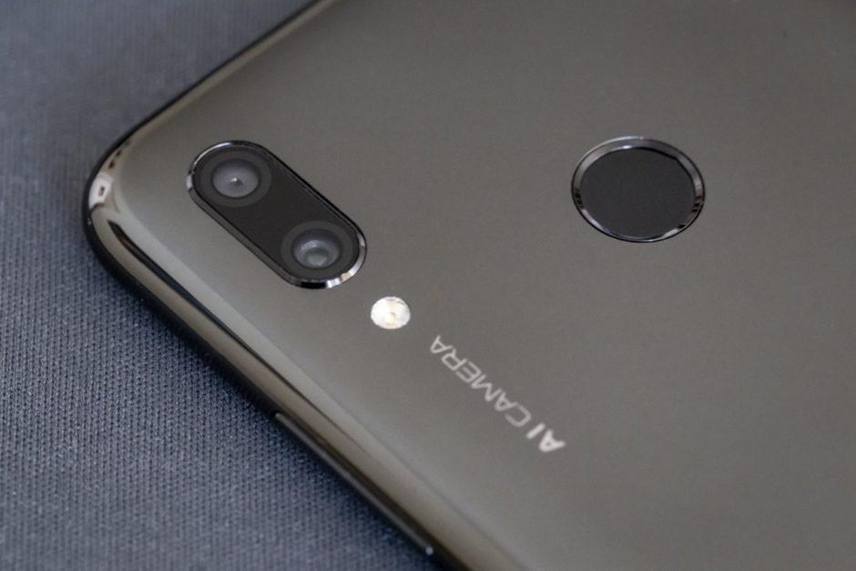 Huawei P Smart 2019 Capteurs Dorsaux