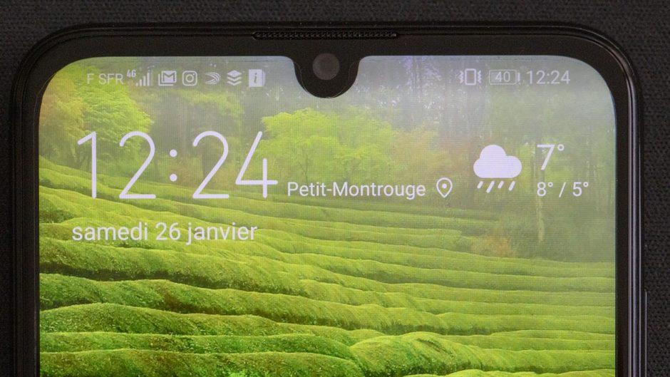 Huawei P Smart 2019 encoche