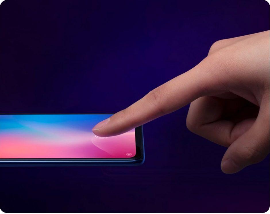 Xiaomi Mi 9 Fingerprint Scanner