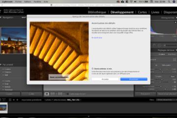 Capture Accentuation Des Détails LR Classic 8.2