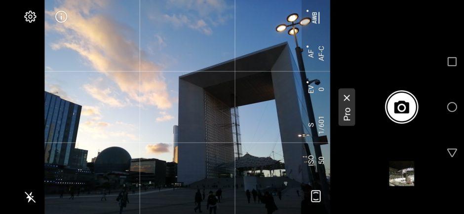 Huawei P Smart 2019 Interface Mode Pro