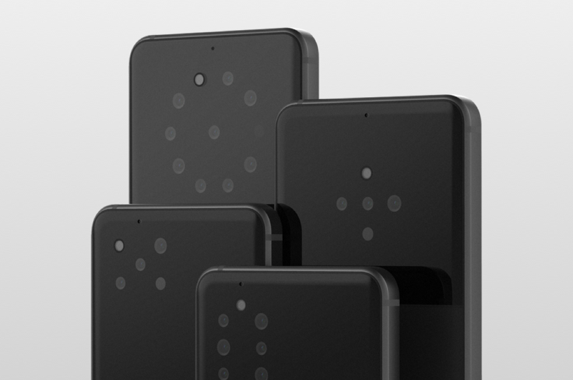 Light Smartphones Multiples Capteurs Dorsaux