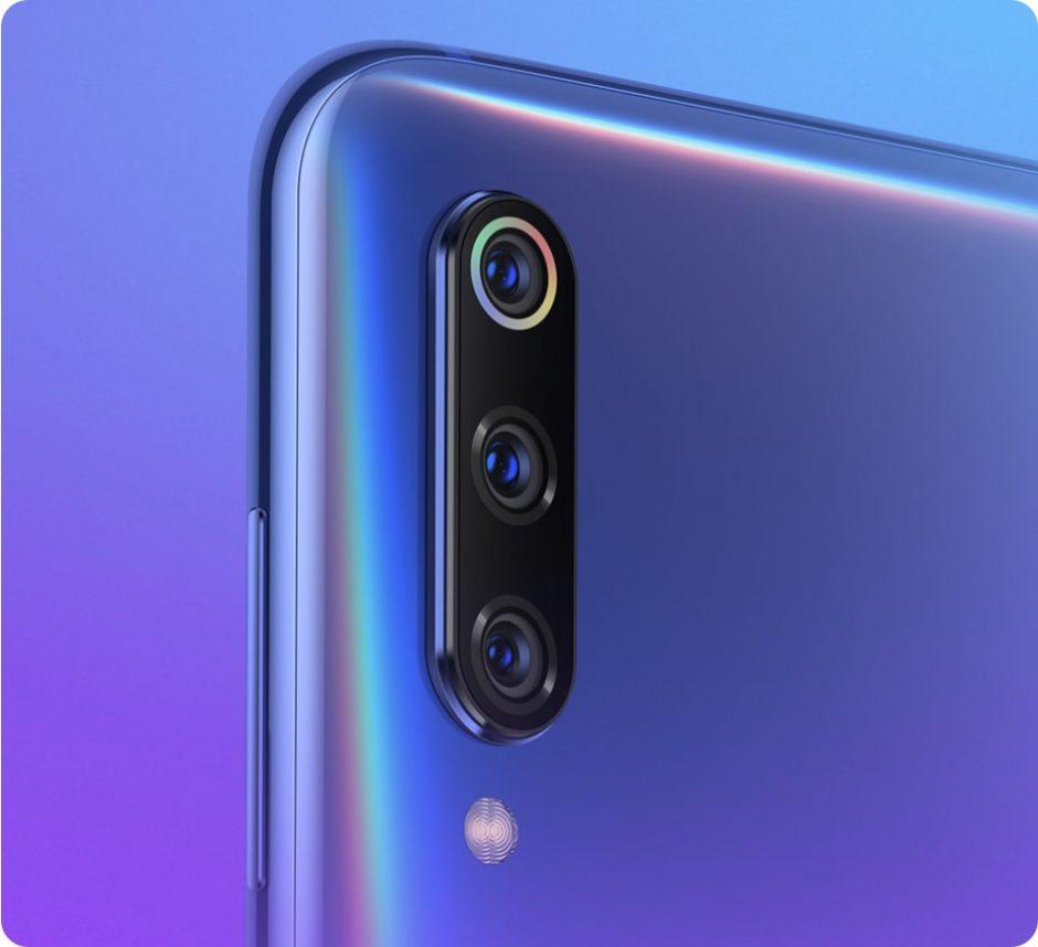 Capteurs photo Xiaomi Mi 9