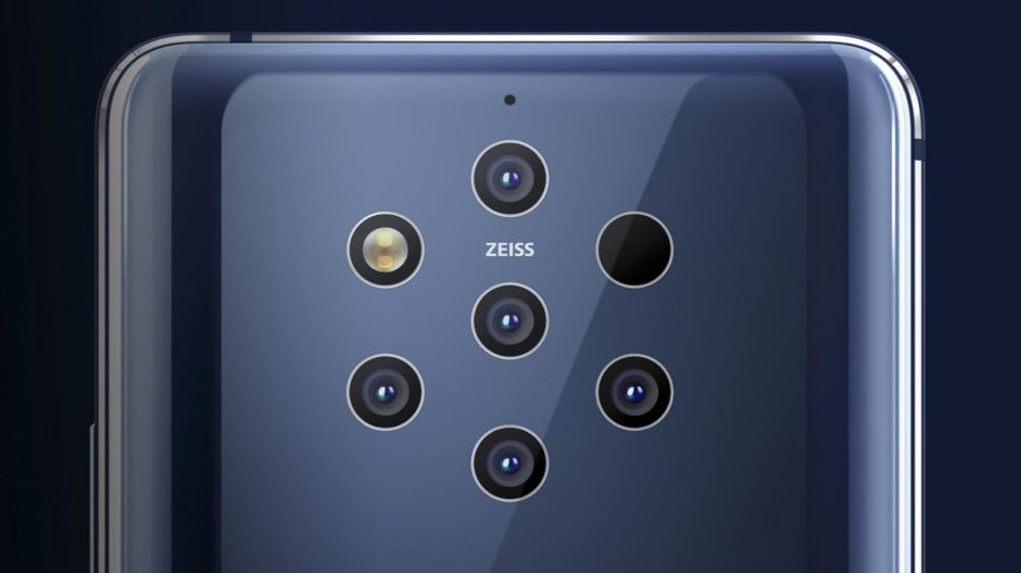 Nokia 9 Pureview Light Capteurs Photo