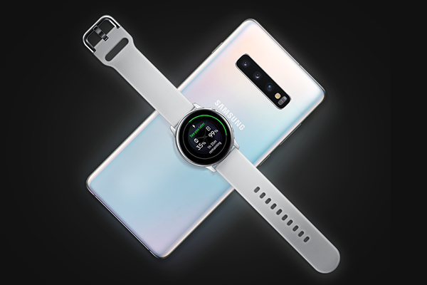 Samsung Galaxy S10 Recharge Sans Fil Inversée
