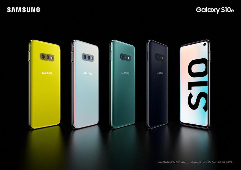 Samsung Galaxy S10 Et S10e