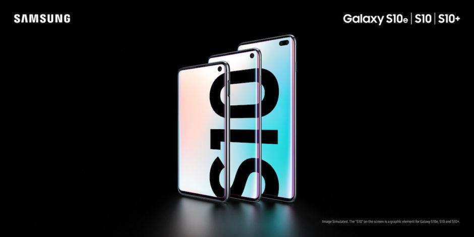 Samsung Galaxy S10 Visuel Promo
