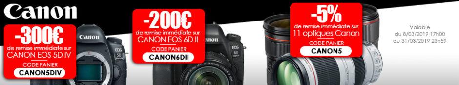 Bandeau ODR Canon Printemps 2019