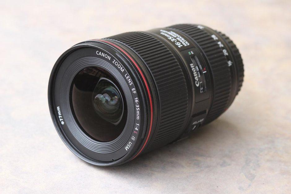 Canon 16 35 F4 Côté