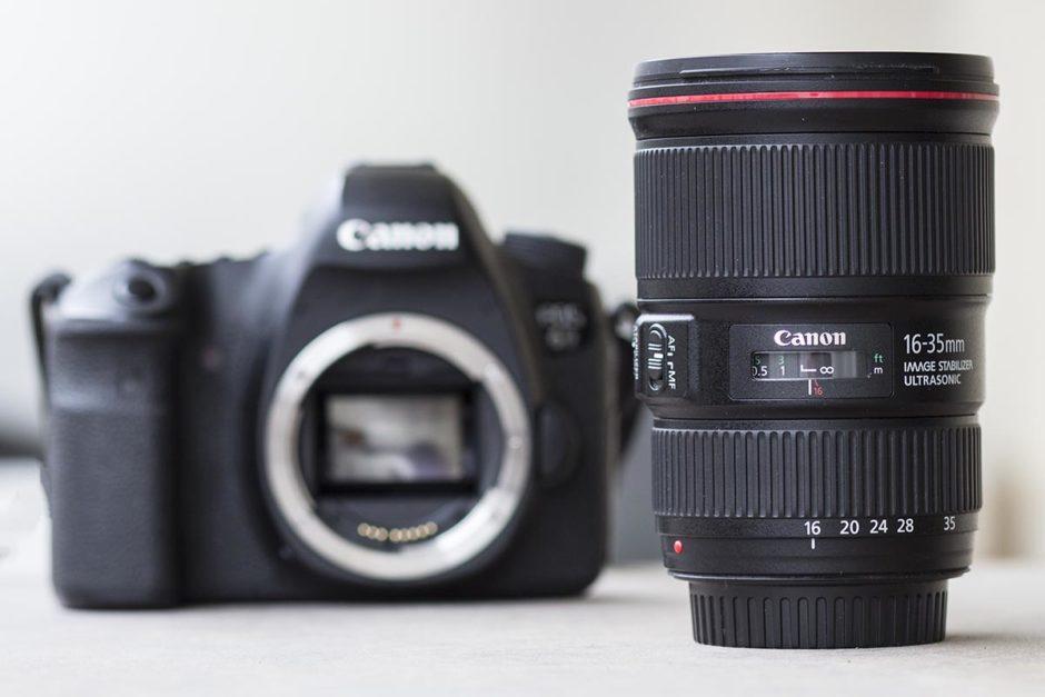 Canon 16 35 Mm F4 Avec Canon 6d Arrière Plan