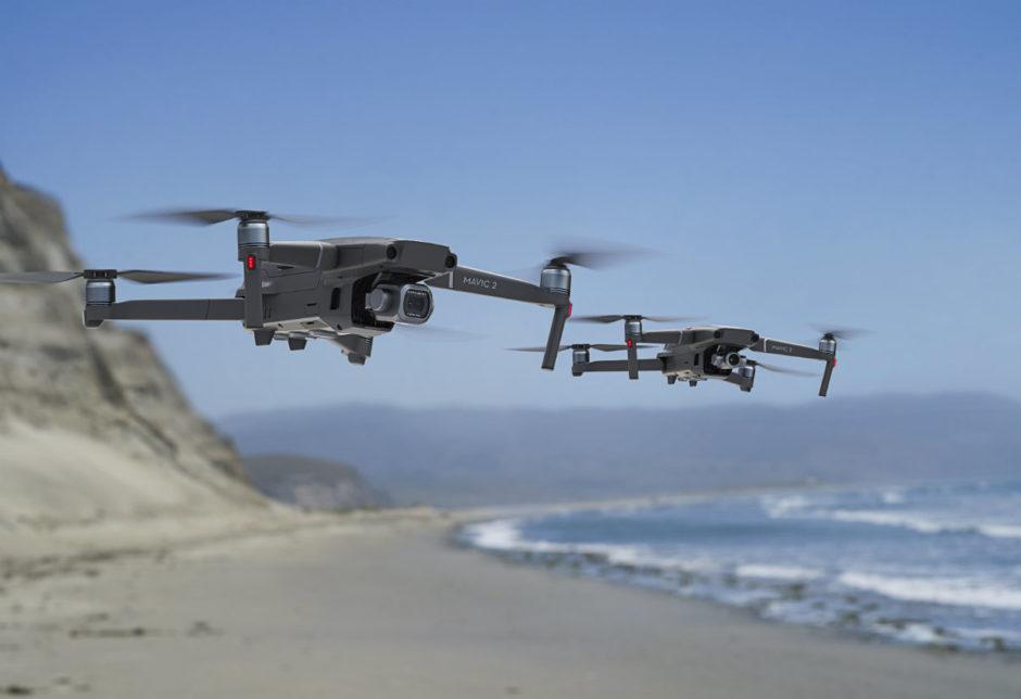 Drone DJI Mavic 2 Pro Et Mavic 2 Zoom