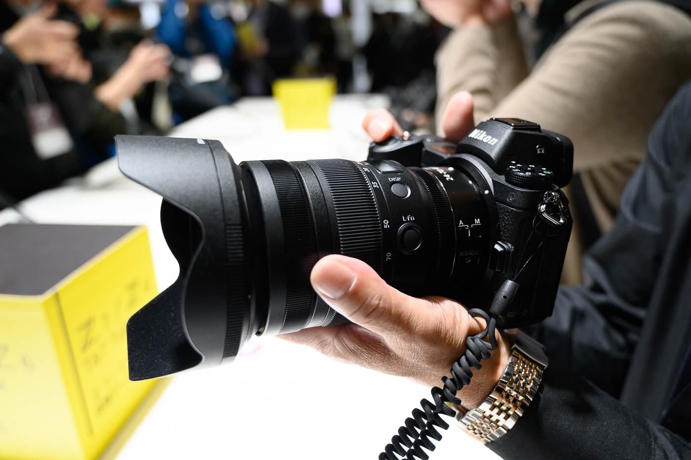 CP+ : Prise en main du Nikkor Z 24-70mm f/2.8 S et test de la fonction Eye AF