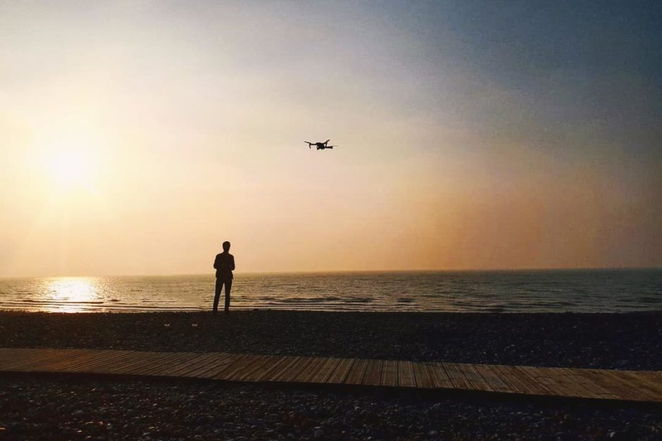 The Man And The Drone Chloé Delestre HD