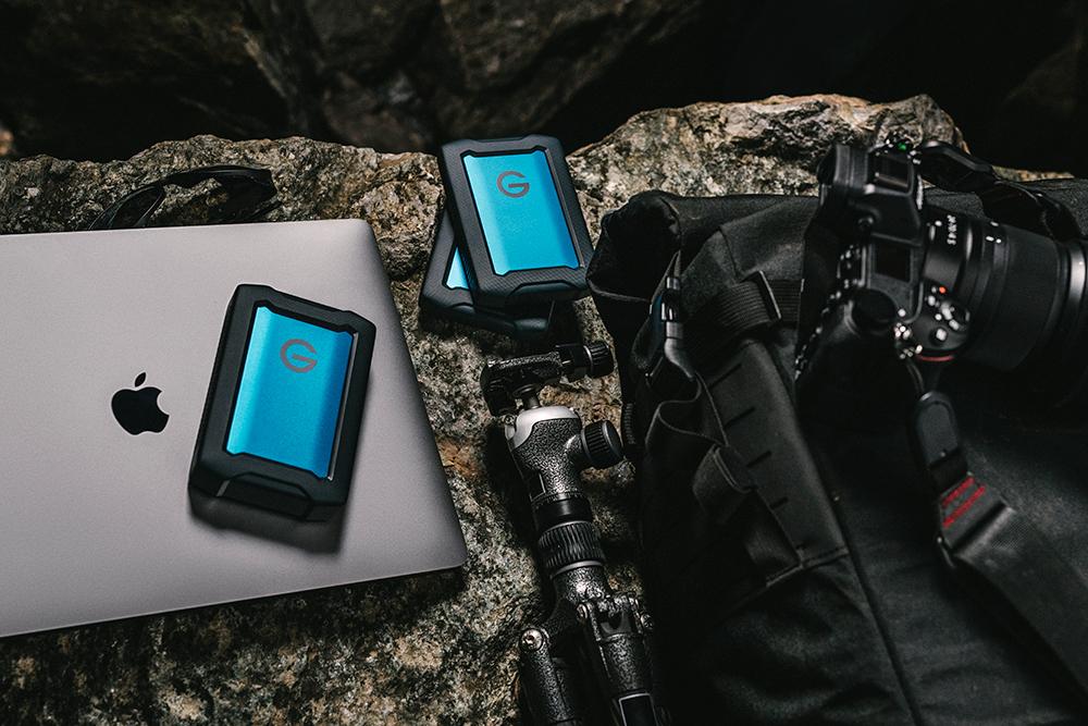 G-Technology ArmorATD, disques externes 2,5″ renforcés pour photographes baroudeurs