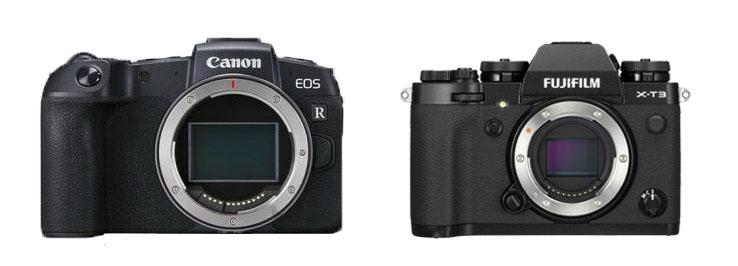 Canon EOS RP Vs Fujifilm X T3.