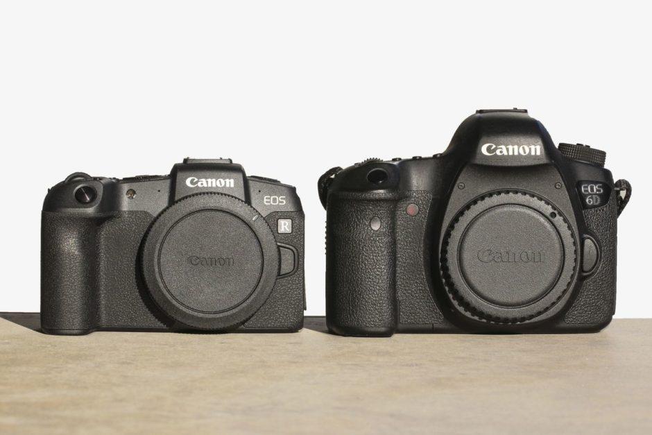 Canon EOS RP vs Canon EOS 6D