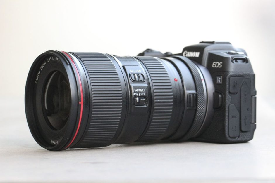 Canon EOS RP et EF 16-35 mm f/4 L IS USM
